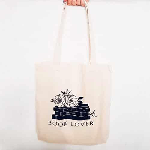 book lover tote
