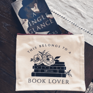 book lover pouch
